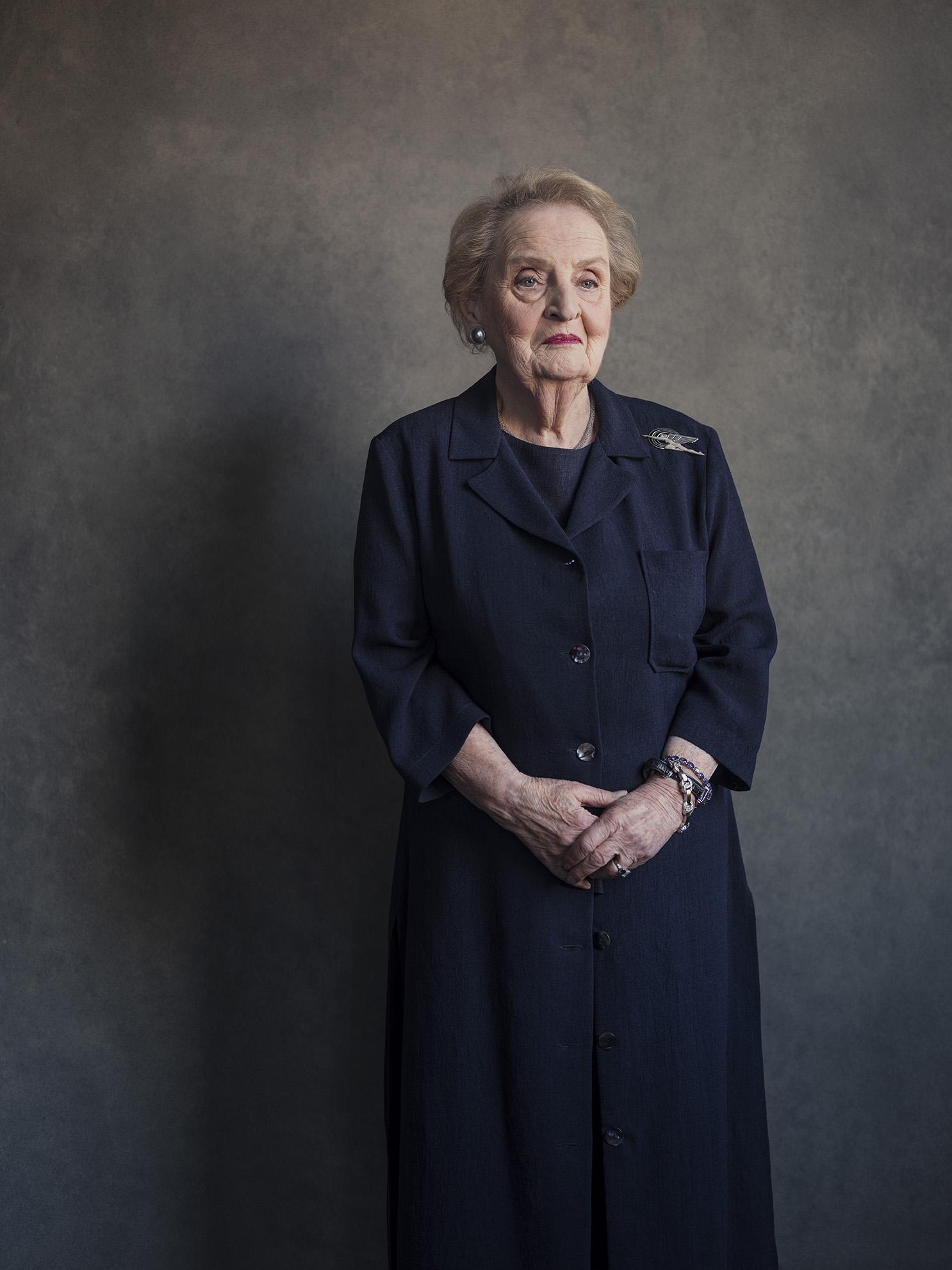 Madeleine Albright by Frank Ruiter.
