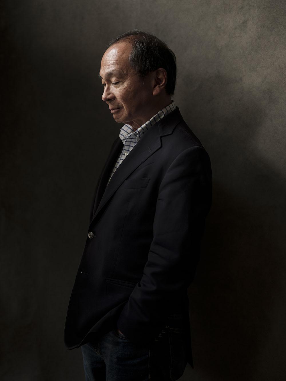 Francis Fukuyama by Frank Ruiter.
